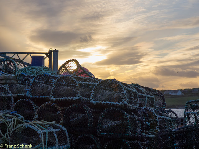fishing gear, Port Magee, County Kerry, Ireland