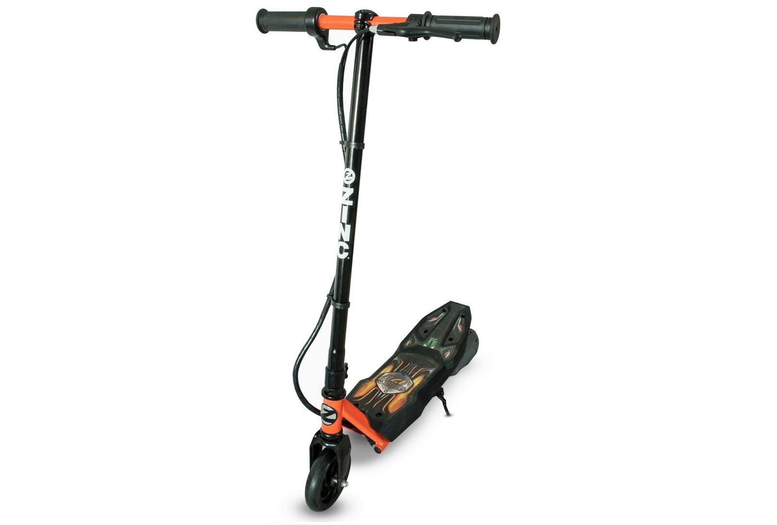 Review Zinc Lithium Volt 120 Electric Scooter The Test Pit
