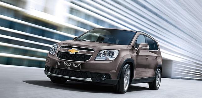 Harga dan Spesifikasi Chevrolet Orlando