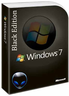 Windows 7 Black Edition Cover