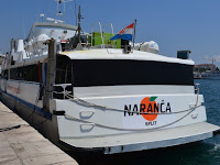 brzi brod Naranča linija Split - Milna slike otok Brač Online
