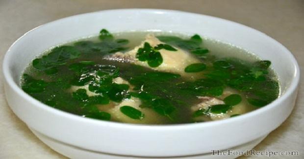 Moringa Soup (Malunggay) Recipe