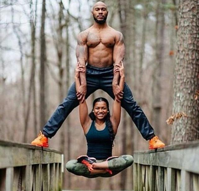 This picture of fitness expert Desmond Scott and his lover has got people talking