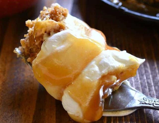 Caramel Apple Lush Dessert Recipe