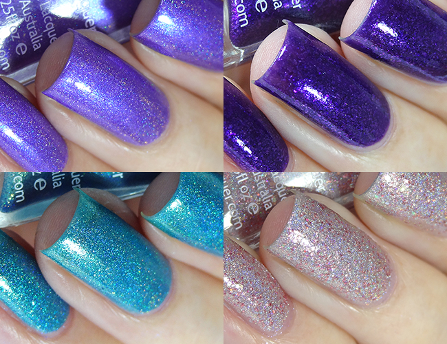 Lilypad Lacquer Swatches