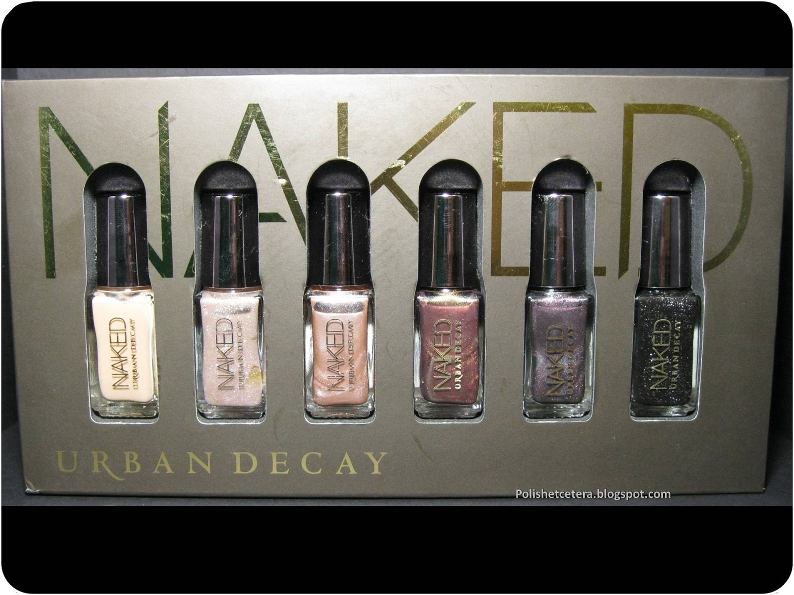 Urban Decay Naked Collection Swatches - Polish Etc.