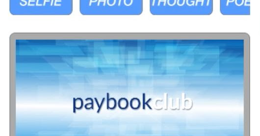 paybook.club , a social network which admits only real and responsible people
