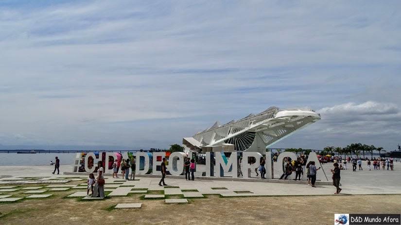 Praça Mauá Museu do Amanhã - Rio de Janeiro