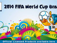 Alfamart official licensed merchandise FIFA piala dunia Brazil 2014