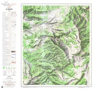 AL_ADARJ Morocco 50000 (50k) Topographic map free download