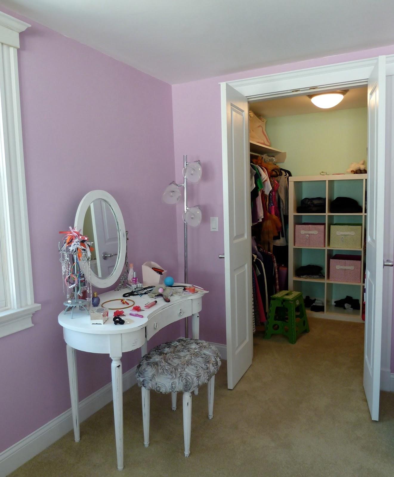 Design Vignettes: Choosing paint colors: girls rooms