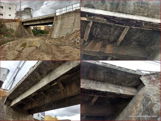 Ponte Velha será interditada em Santa Cruz do Capibaribe