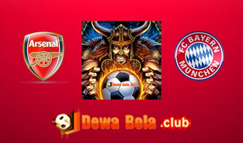Prediksi Arsenal VS Bayern Munchen 8 Maret 2017