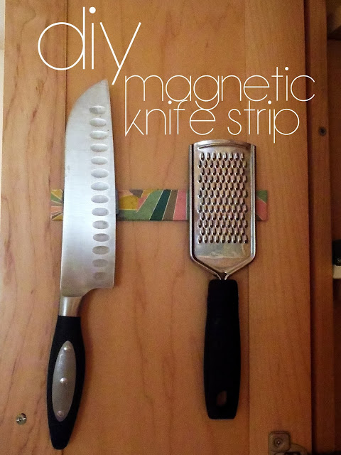 DIY magnetic strip