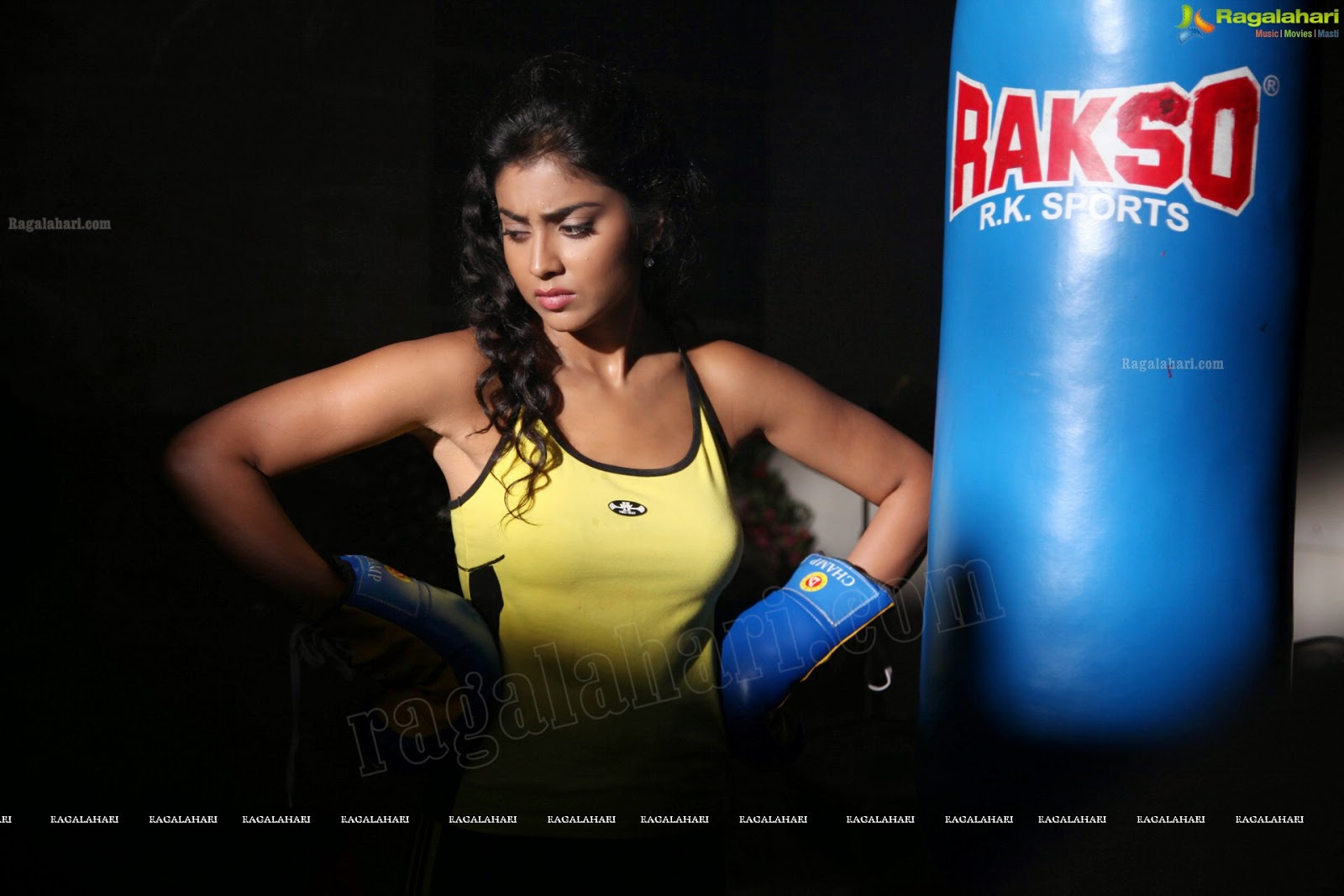Shriya Saran Gym: Boxing Girls