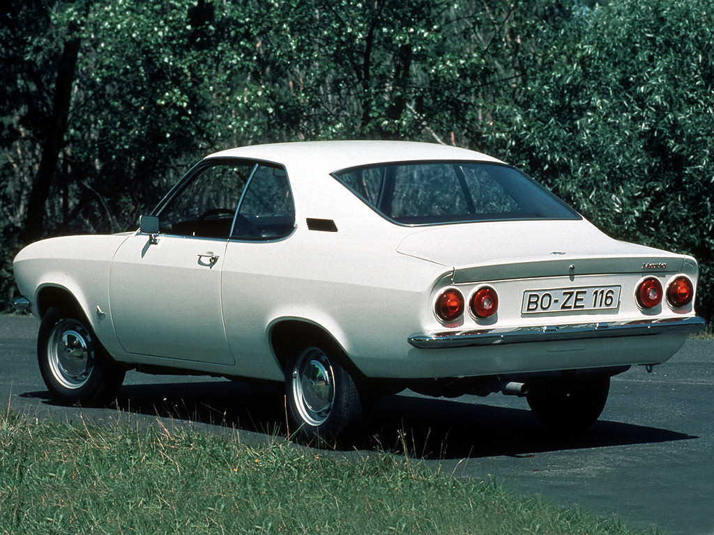avengers in time 1970 cars opel manta a. Black Bedroom Furniture Sets. Home Design Ideas