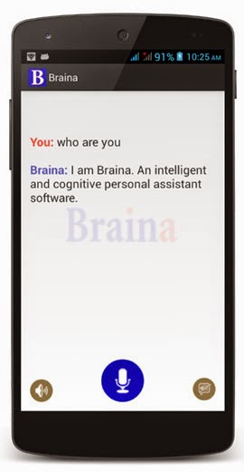 Braina personal assistant
