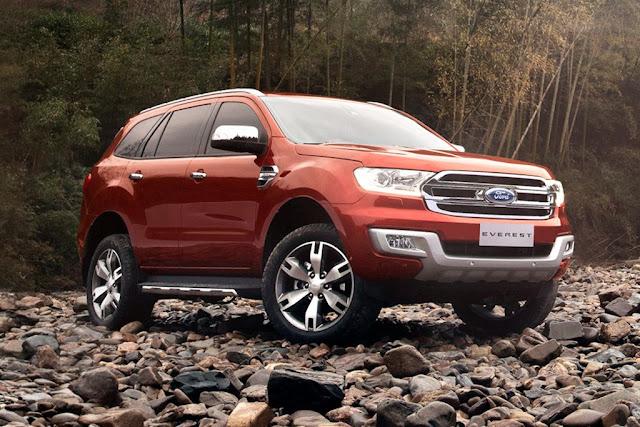 Ford Everest sản xuất tại Nam Phi sẽ như thế nào?