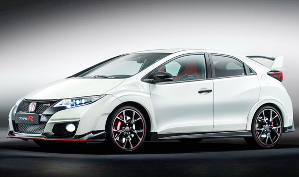 2017 Honda Australia Confirm Civic Hatch Type R Manual-only Transmission