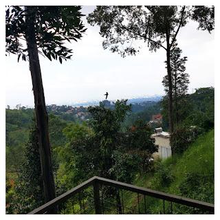 city view - villa maria dago village bandung
