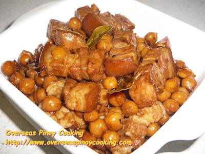 Pork Adobo with Garbanzos Recipe