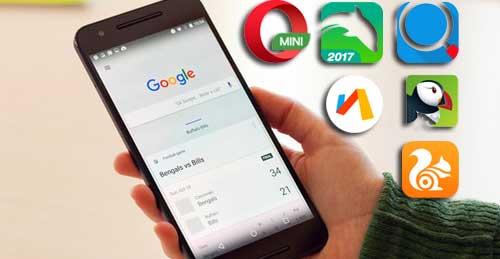 Web Browser Paling Ringan untuk Android