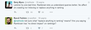Gary Illyes твит  о RankBrain
