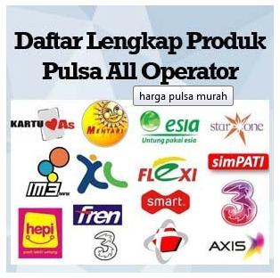 Harga Pulsa Murah Darra Reload 2018 Saldo Pulsa All Operator