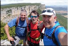 Sardegi mendiaren gailurra 958 m. - 2018ko uztailaren 28an