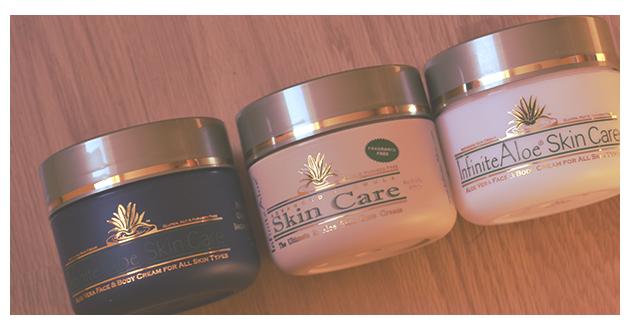 PREVIEW: Referenze a base di Aloe Vera - InfiniteAloe Skincare