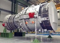 Siemens SGT5-8000 Gas Turbine pushes world record in efficiency to over 60 percent