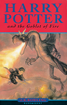 Harry Potter and the Goblet of Fire by J. K. Rowling book cover