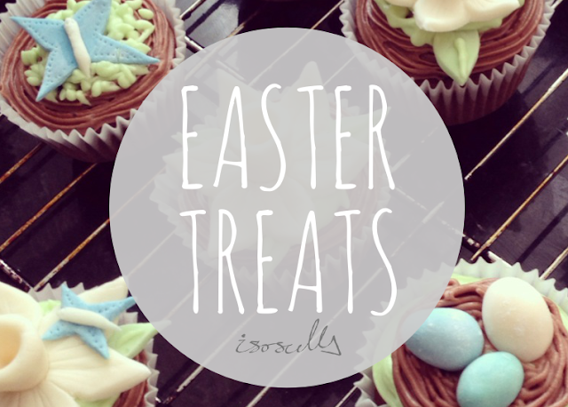 Baking Easter Treats Cupcakes DIY How to