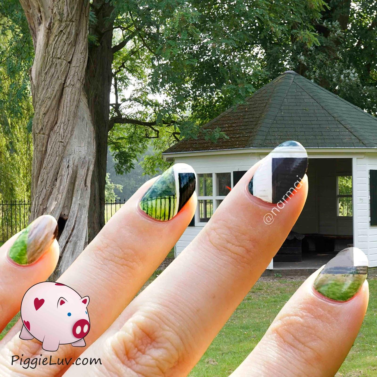Piggieluv Galaxy Donuts Nail Art: PiggieLuv: Nail Art Gallery