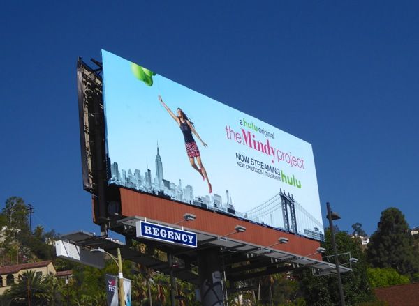 Mindy Project season 4 hulu billboard
