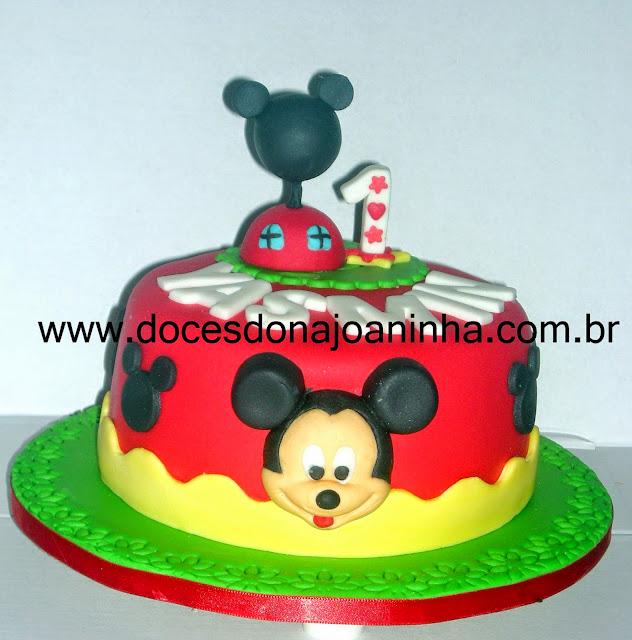 Bolo Mickey Mouse aniversário