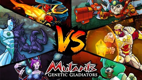Mutants: Genetic Gladiators Apk Free on Android Game Download