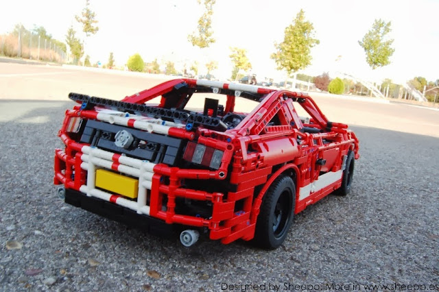 ford mustang shelby gt500 lego technic and model team. Black Bedroom Furniture Sets. Home Design Ideas