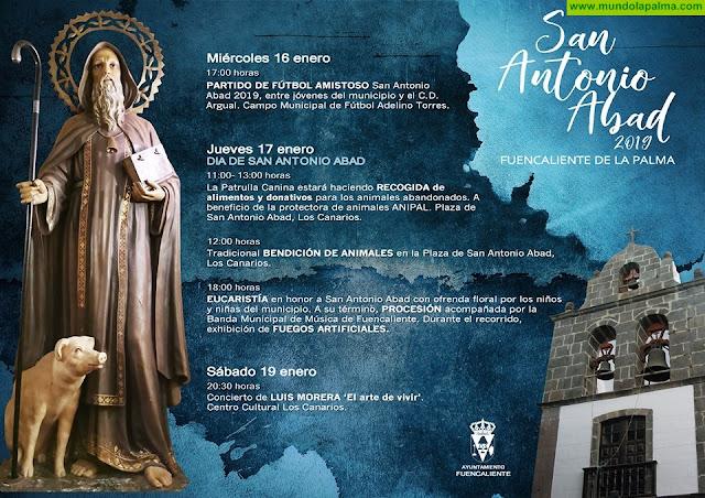 Fiesta de San Antonio Abad 2019 - Fuencaliente de La Palma