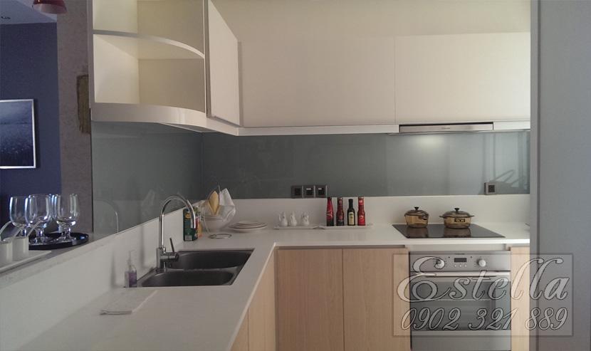 Căn hộ Estella Quận 2 cho thuê diện tích 124m2 - thiết bị bếp