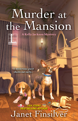 Review, Giveaway, Murder at the Mansion, Janet Finsilver, Bea's Book Nook