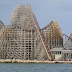 Update 2: Novas imagens da reformulação na montanha russa Mean Streak do Cedar Point