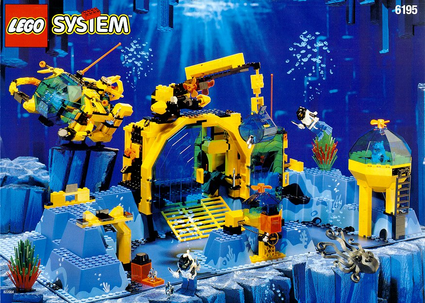 all about bricks deep sea lego themes always bubble back up. Black Bedroom Furniture Sets. Home Design Ideas