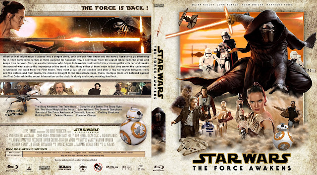 Star Wars The Force Awakens Bluray Cover