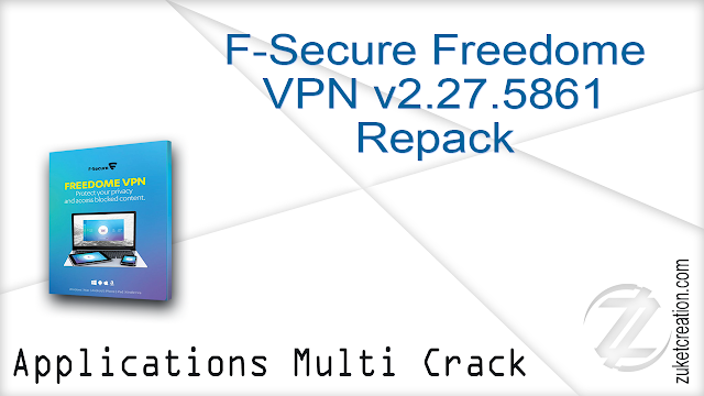 F-Secure Freedome VPN v2.27.5861 Repack