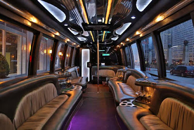 party bus with a abthroom