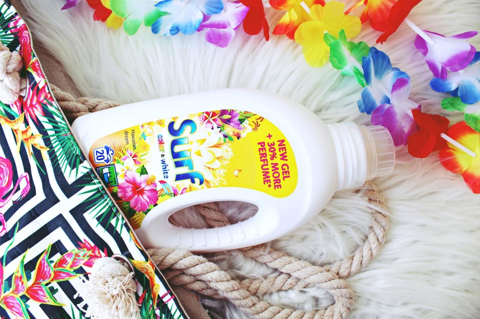 NOWOŚĆ! SURF HAWAIIAN DREAM - pierwszy produkt do prania rzeczy białych i kolorowych