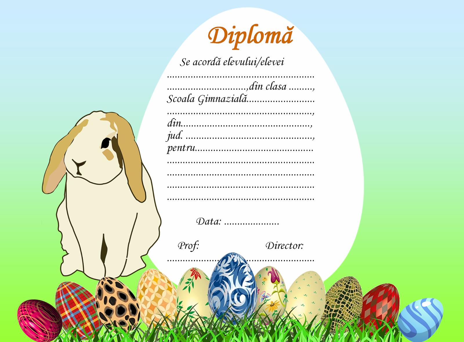 Diplome de Paşti