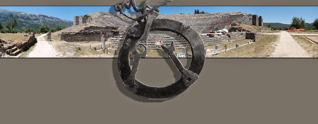 Ένας χάλκινος τροχίσκος από την Δωδώνη. Η ίυγξ ο λέβης και η μουσική των θεών