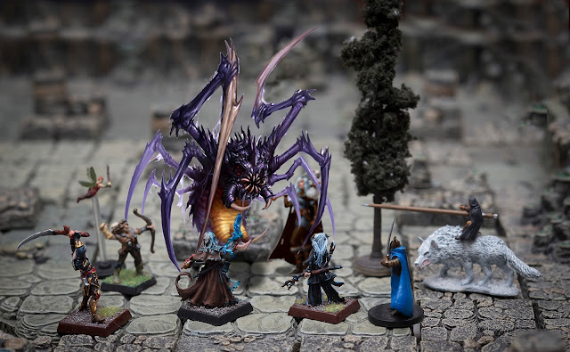 Reign of Winter, Pathfinder adventure path, Mother Maiden Crone, battle against the bebilith